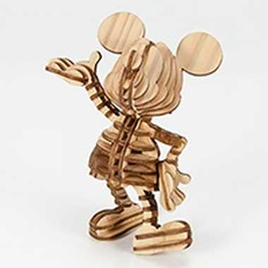 A03802910 ミッキーマウス Hello Mickey099_wood